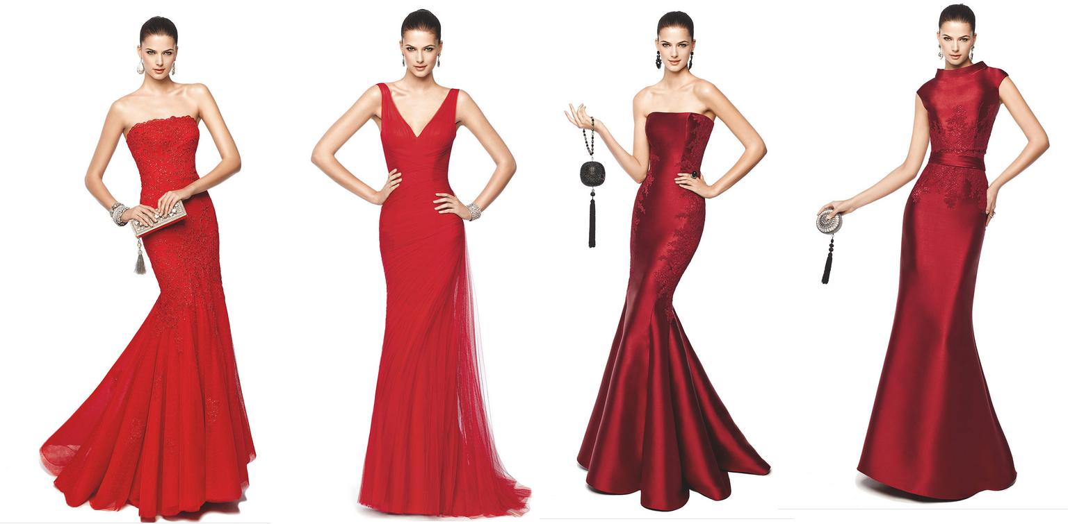 02ed709c81bff Kına Gecelerinin Vazgeçilmezi : Kırmızı Abiye Modelleri